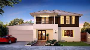 2 Storey House Design With Floor Plan Two Story House Designs Modern
