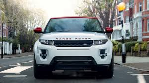 black land rover with black rims range rover evoque special edition land rover mena