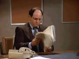 George Costanza Under Desk Always Appear Stressed And Under Pressure George Costanza U0027s