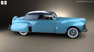 lincoln zephyr continental cabriolet 1939 by 3d model store