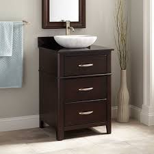 espresso wood sink vanity signature hardware