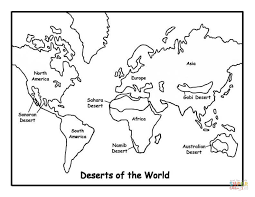 deserts coloring free printable coloring pages
