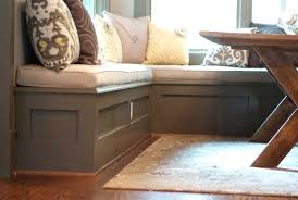 diy corner bench kitchen nook storage benches diy image of