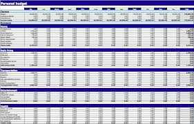 personal budget template personal budget spreadsheet template for