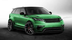range rover velar inside yikes someone u0027s tuned a range rover velar already top gear
