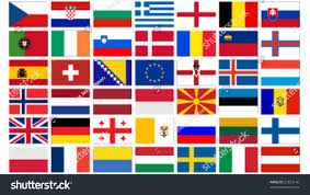 European Flags Images Set All European Flags Vector Illustration Stock Vector 21833140