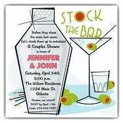 stock the bar shower couples shower invitations paperstyle