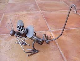 Garden Metal Decor Recycled Metal Garden Decor Ideas Recycle Things Yards And Mice
