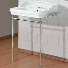 wall mount sink legs retro bathroom sinks on chrome legs alden from waterworks