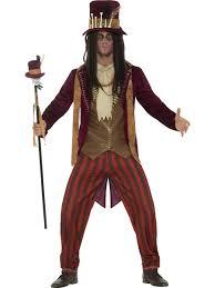 Mens Doctor Halloween Costume Deluxe Voodoo Adults Fancy Dress Halloween Black Magic Mens Ladies