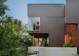 Exterior Wall Design Minimalist House With Metal Exterior Wall Cladding The Benefits