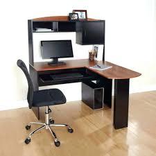 Corner Computer Workstation Desk Space Saving Desk Chair Bethebridge Co