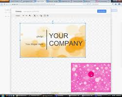 how to make buisness card in google docs or ms publisher youtube