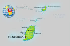 grenada location on world map about grenada carriacou martinique gov gd