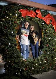 large wreath a tradition for fairfield