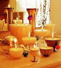 composizione di candele come fare una candela in casa la figurina