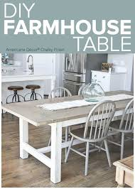 Dining Room Table Chairs Best 25 Farmhouse Table Ideas On Pinterest Diy Farmhouse Table