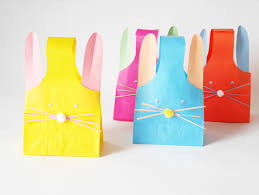 Diy Easter Decorations With Paper by Hello Wonderful Adorable Diy Paper Bunny Treat Bags