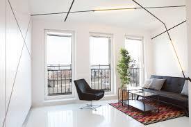 a graphic minimalist apartment in poland design milk