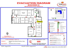 fire evacuation floor plan home emergency evacuation plan homes floor plans