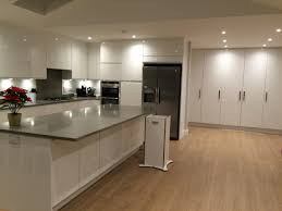 Kitchen Laminate Flooring by Finally My Very Own Kitchen That I Love White High Gloss Handle