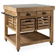 Kitchen Island And Carts by Rustic Kitchen Cart Home Design Styles