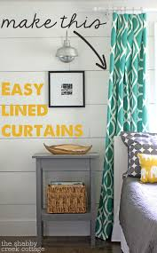 Lined Curtains Diy Inspiration 108 Best Diy Window Treatments Images On Pinterest Curtain