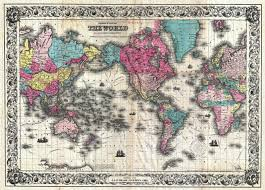 Ancient World Map by Ancient World Maps World Map 19th Century
