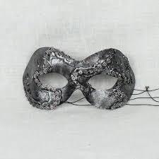 silver masquerade masks ghostly silver masquerade mask for women masquerade express