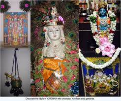 How To Decorate Janmashtami At Home by Shanthi Krishnakumar U0027s Cook Book A Complete Guide For Sri Krishna