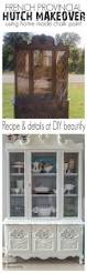 top 25 best white hutch ideas on pinterest hutch makeover a damaged hutch gets repaired and brought to life with shabby white paint details and
