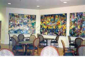 Mixed Media  HARRIET G DARNELL DINING ROOM PAINTINGS ATLANTA - Dining room paintings