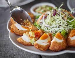 cuisine et recettes ทอดม นไข เค ม ระเบ ยง เค ยงนา ร านอาหารไทย บรรยากาศด ระยอง อาหาร
