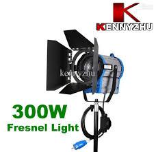 cheap studio lights for video continous lighting video studio fresnel tungsten light 300w bulb