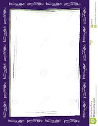 Halloween Paper Borders by Halloween Skeleton Border Stock Photo Image 2143880