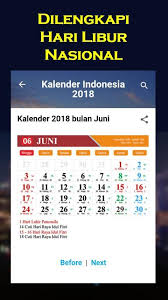 Kalender 2018 Hari Libur Nasional Kalender 2018 Android Apps On Play