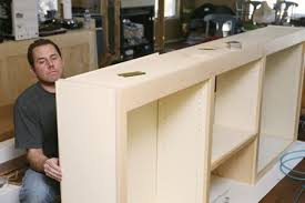 wood kitchen cabinet boxes particle board vs plywood cabinets