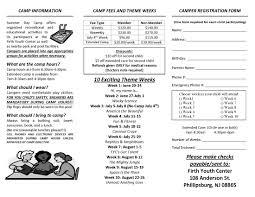 Stephen R Ellis Mayor Phillipsburg New Jersey 2016 Firth Youth Center Summer Day Camp Phillipsburg New Jersey