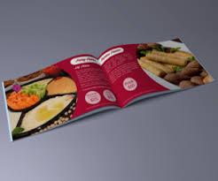43 bold playful restaurant catalogue designs for a restaurant
