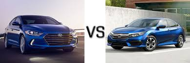 honda civic or hyundai elantra 2017 hyundai elantra vs honda civic
