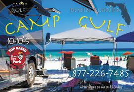 Florida Map Destin by Destin Florida Rv Parks Destin Campgrounds Rv Camping In