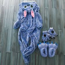 footie pajamas halloween costumes free shipping stitch costume onesies hooded blue stitch footed