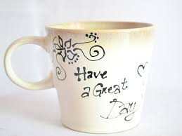 how to make designs on coffee how to make your own personalized mug 5 steps with pictures
