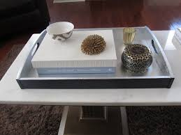 diy square coffee table simple diy square coffee table tray painted with black and white