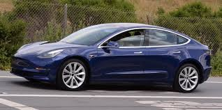tesla model 3 updated version of the blue release candidate