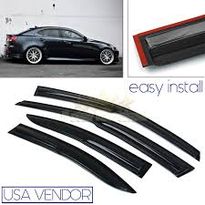 lexus cars for sale on ebay for 05 13 lexus is250 350 usa window wind deflector rain guard
