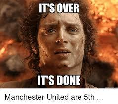 Quick Memes - it s over it s done quick meme com manchester united are 5th meme