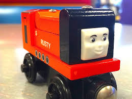 rusty train thomas u0026 friends rusty wooden railway toy train railway review by