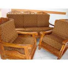 Pure Teak Wood Stylish Sofa Set India Wood Factory Kolkata ID - Teak wood sofa set designs
