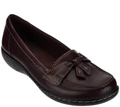 clarks slip on loafers ashland bubble page 1 u2014 qvc com